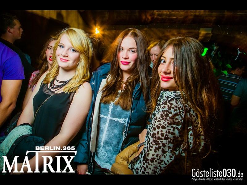 https://www.gaesteliste030.de/Partyfoto #17 Matrix Berlin vom 17.10.2013