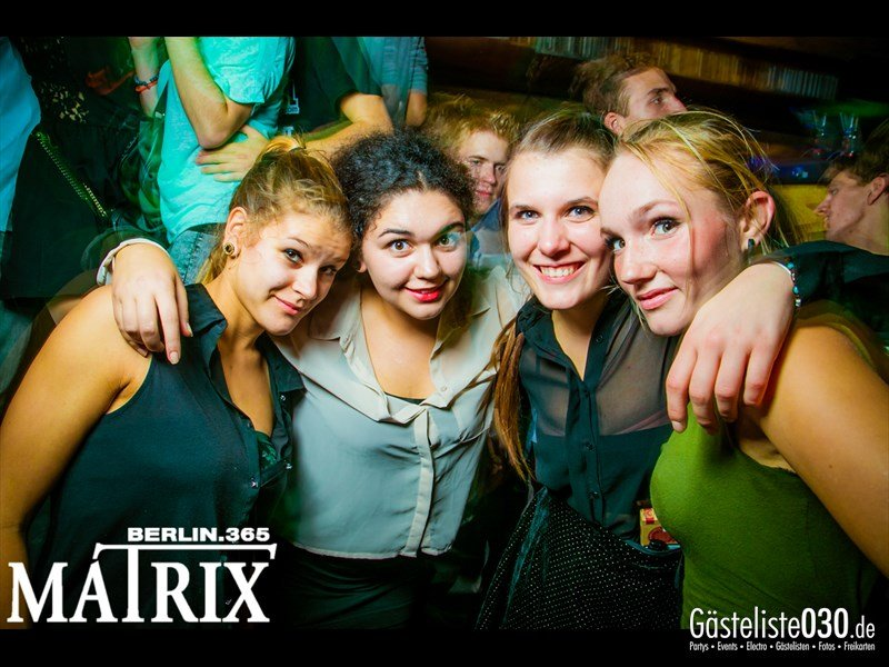https://www.gaesteliste030.de/Partyfoto #118 Matrix Berlin vom 17.10.2013
