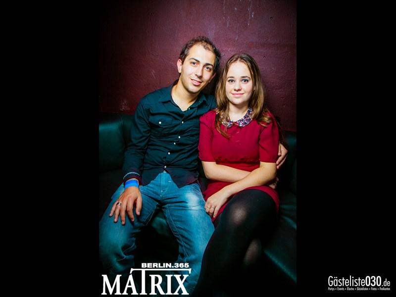 https://www.gaesteliste030.de/Partyfoto #103 Matrix Berlin vom 17.10.2013