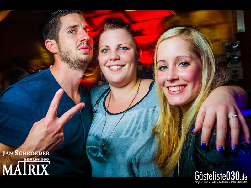 https://www.gaesteliste030.de/Partyfoto #99 Matrix Berlin vom 26.10.2013