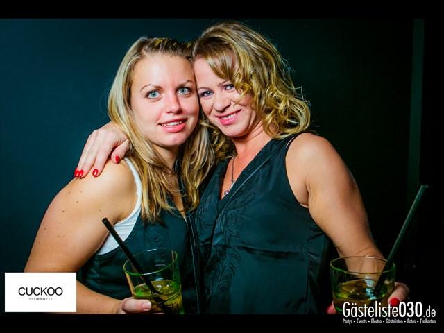Partypics Cuckoo Berlin 04.10.2013 Diced Pineapples