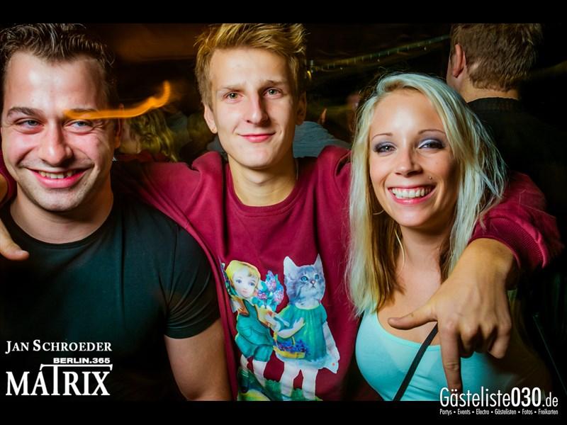 https://www.gaesteliste030.de/Partyfoto #132 Matrix Berlin vom 24.10.2013