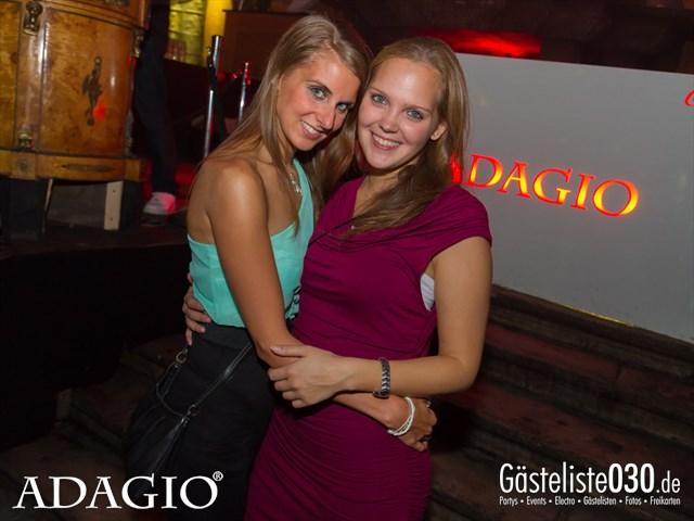 Partypics Adagio 04.10.2013 Ladies Night