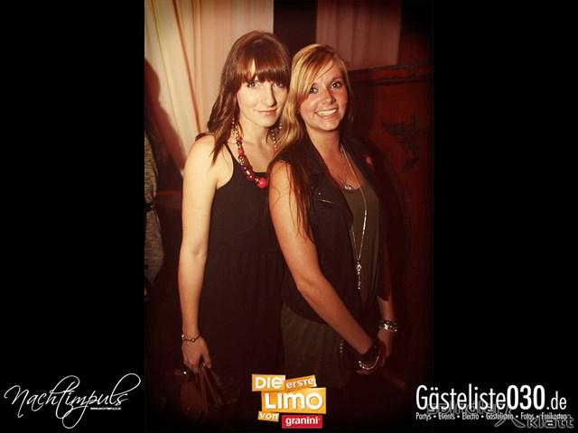 """Partypics Spindler & Klatt 05.10.2013 Nachtimpuls präsentiert: """"Die erste Limo von Granini"""""""