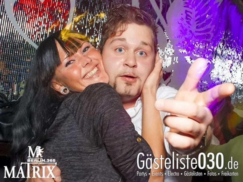 https://www.gaesteliste030.de/Partyfoto #95 Matrix Berlin vom 12.10.2013