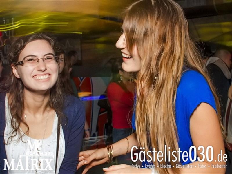 https://www.gaesteliste030.de/Partyfoto #2 Matrix Berlin vom 12.10.2013