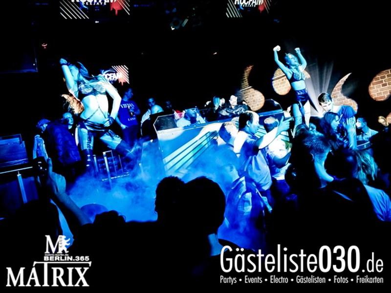 https://www.gaesteliste030.de/Partyfoto #54 Matrix Berlin vom 12.10.2013