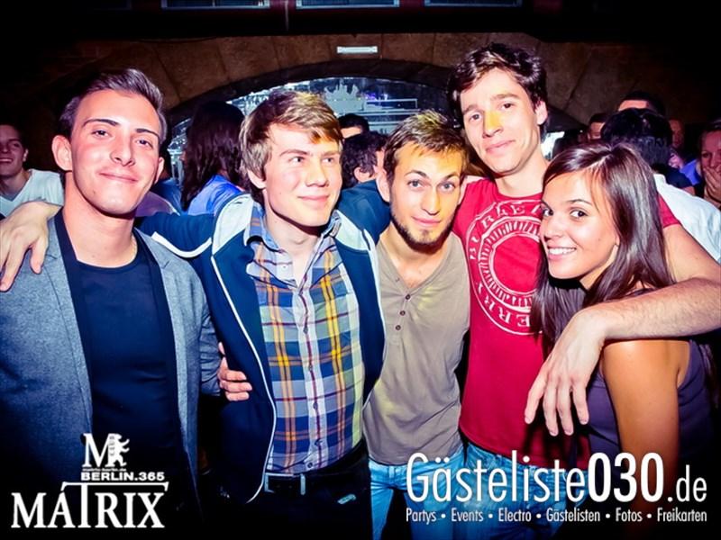 https://www.gaesteliste030.de/Partyfoto #119 Matrix Berlin vom 12.10.2013