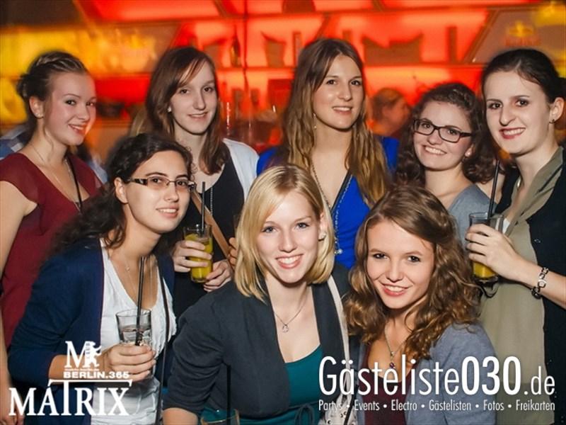 https://www.gaesteliste030.de/Partyfoto #55 Matrix Berlin vom 12.10.2013