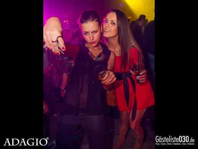 Partypics Adagio 18.10.2013 Ladies Night