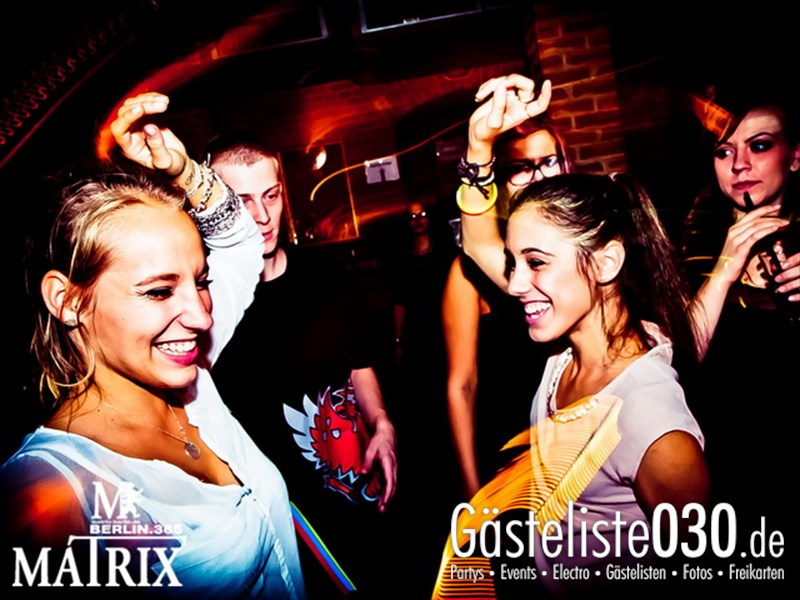 https://www.gaesteliste030.de/Partyfoto #11 Matrix Berlin vom 09.10.2013