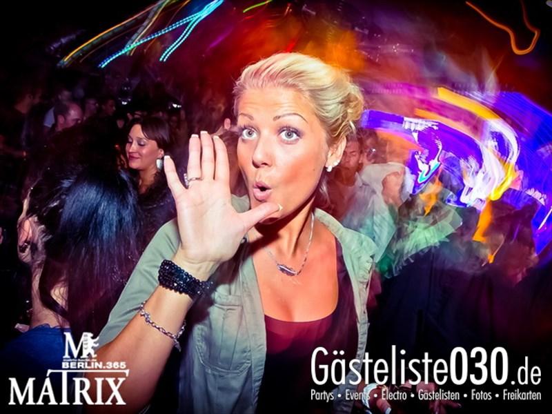 https://www.gaesteliste030.de/Partyfoto #101 Matrix Berlin vom 09.10.2013