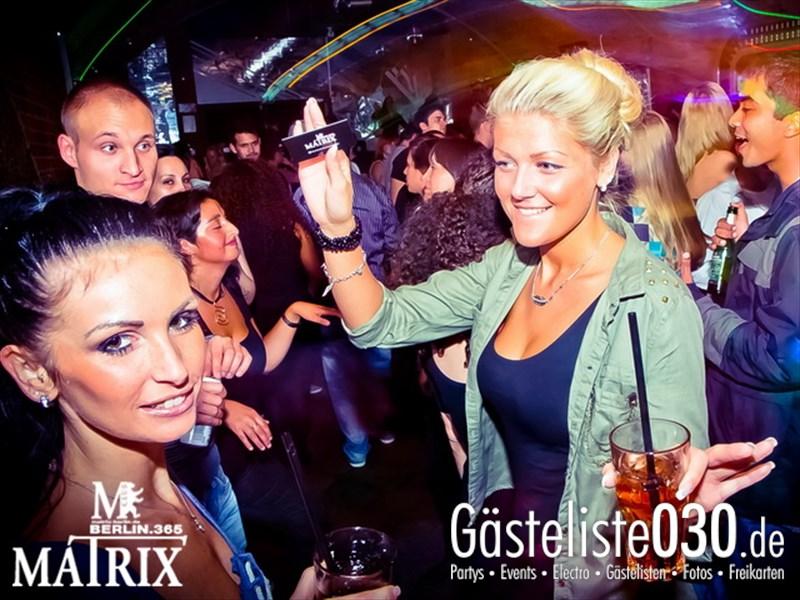 https://www.gaesteliste030.de/Partyfoto #110 Matrix Berlin vom 09.10.2013