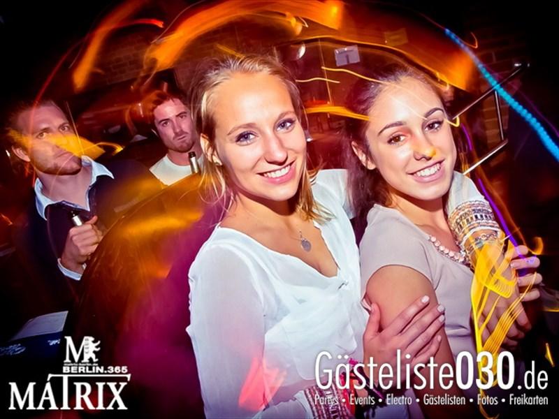 https://www.gaesteliste030.de/Partyfoto #93 Matrix Berlin vom 09.10.2013