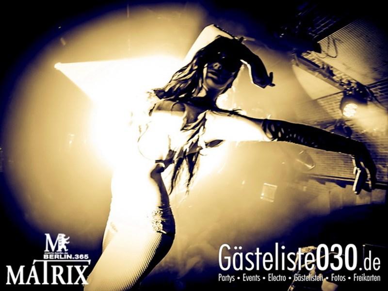 https://www.gaesteliste030.de/Partyfoto #102 Matrix Berlin vom 09.10.2013