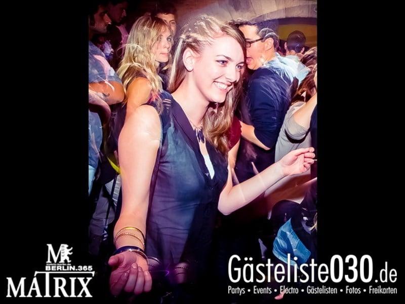 https://www.gaesteliste030.de/Partyfoto #106 Matrix Berlin vom 09.10.2013