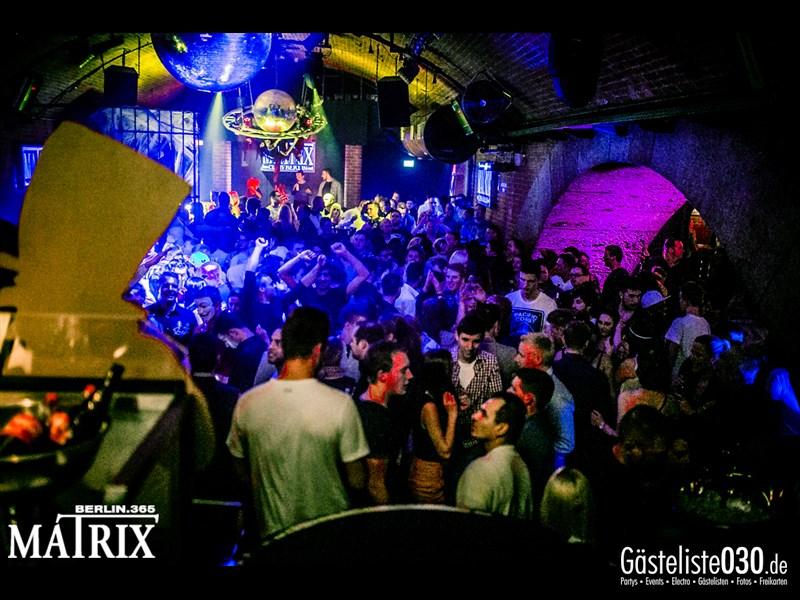 https://www.gaesteliste030.de/Partyfoto #118 Matrix Berlin vom 01.11.2013