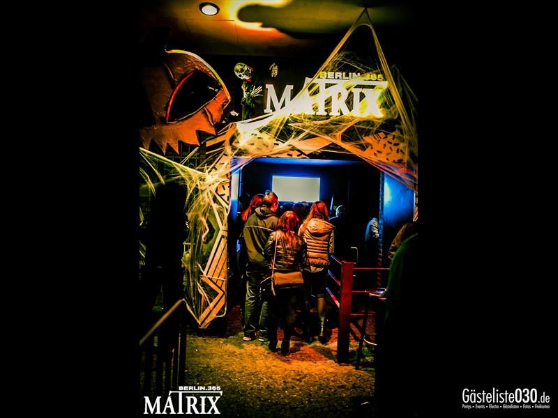 https://www.gaesteliste030.de/Partyfoto #31 Matrix Berlin vom 01.11.2013