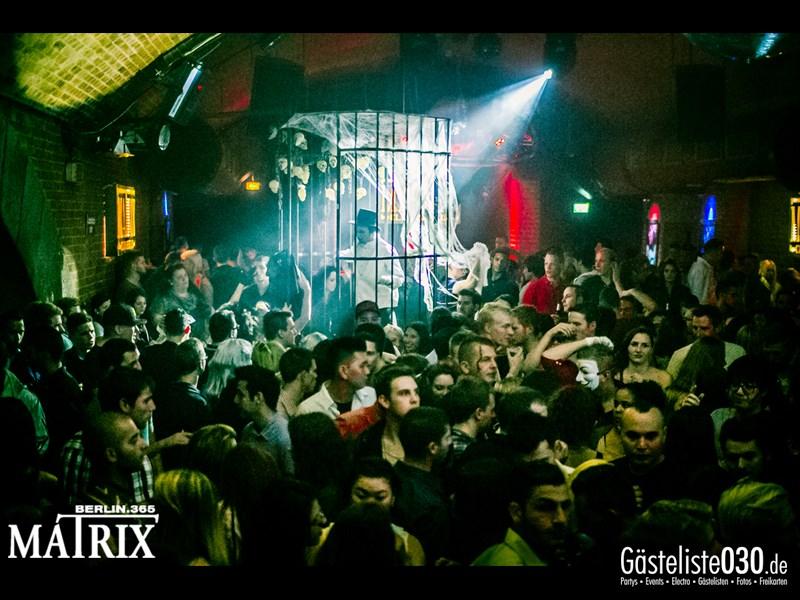 https://www.gaesteliste030.de/Partyfoto #125 Matrix Berlin vom 01.11.2013