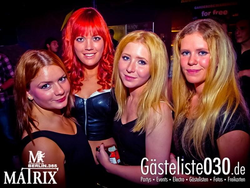 https://www.gaesteliste030.de/Partyfoto #42 Matrix Berlin vom 30.10.2013