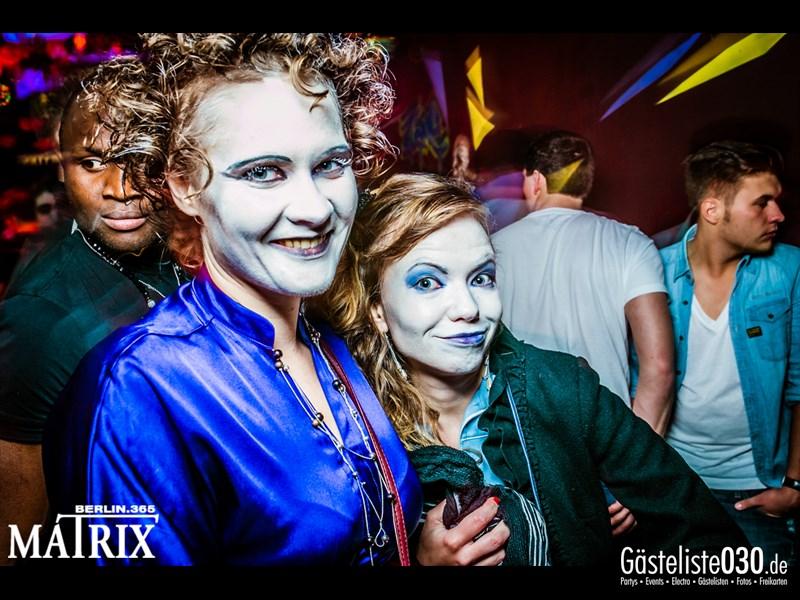 https://www.gaesteliste030.de/Partyfoto #73 Matrix Berlin vom 31.10.2013