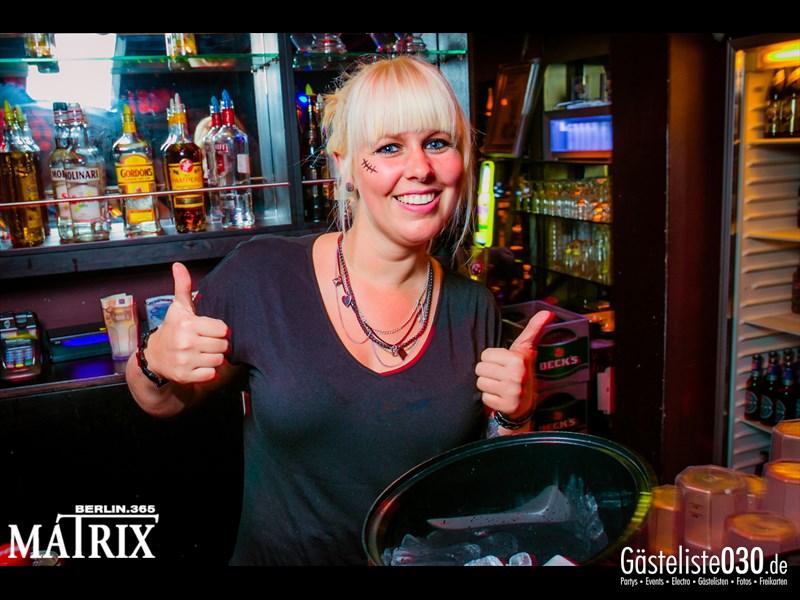 https://www.gaesteliste030.de/Partyfoto #120 Matrix Berlin vom 31.10.2013