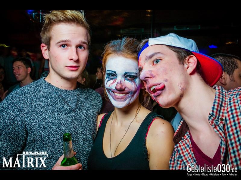 https://www.gaesteliste030.de/Partyfoto #122 Matrix Berlin vom 31.10.2013