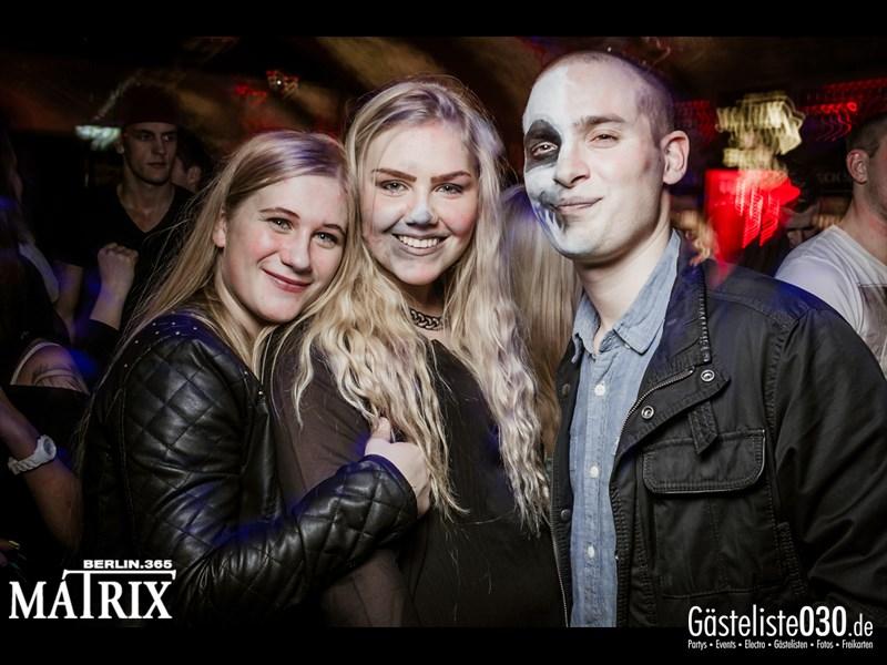 https://www.gaesteliste030.de/Partyfoto #159 Matrix Berlin vom 31.10.2013