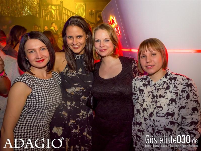 https://www.gaesteliste030.de/Partyfoto #22 ADAGIO Berlin vom 06.12.2013