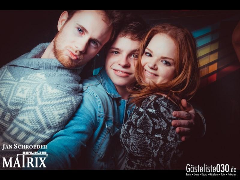 https://www.gaesteliste030.de/Partyfoto #40 Matrix Berlin vom 17.01.2014