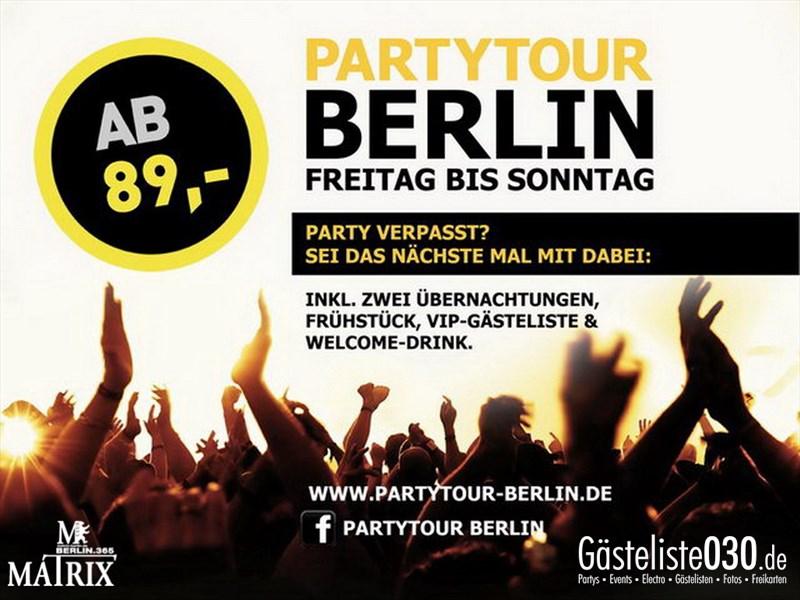 https://www.gaesteliste030.de/Partyfoto #95 Matrix Berlin vom 08.01.2014