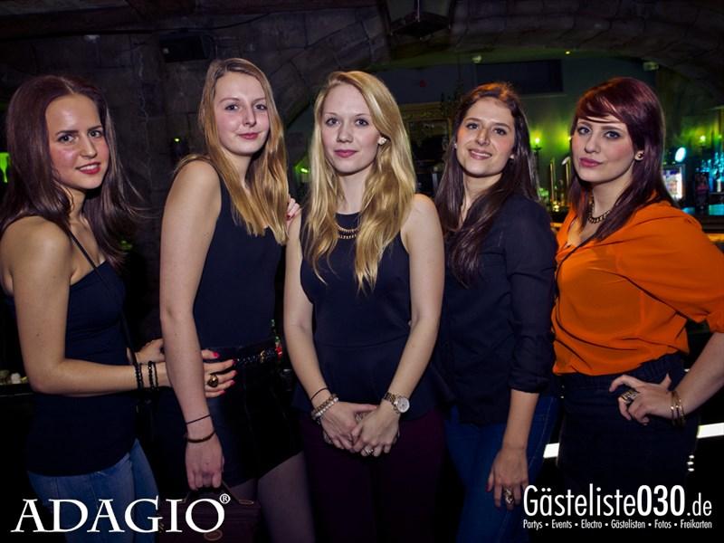 https://www.gaesteliste030.de/Partyfoto #11 ADAGIO Berlin vom 18.01.2014