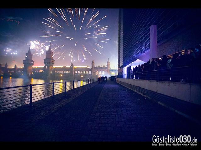Partypics Spreespeicher 31.12.2013 Silvester an der Spree 2013/2014 - Universal Osthafen - All inklusive für 59€