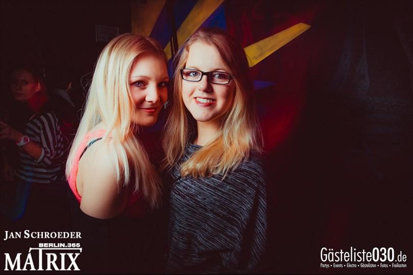 https://www.gaesteliste030.de/Partyfoto #95 Matrix Berlin vom 14.03.2014