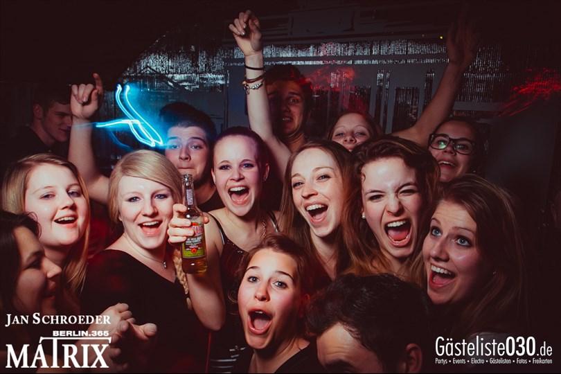 https://www.gaesteliste030.de/Partyfoto #19 Matrix Berlin vom 14.03.2014