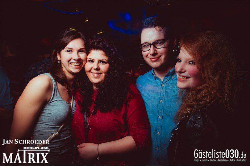 https://www.gaesteliste030.de/Partyfoto #112 Matrix Berlin vom 14.03.2014