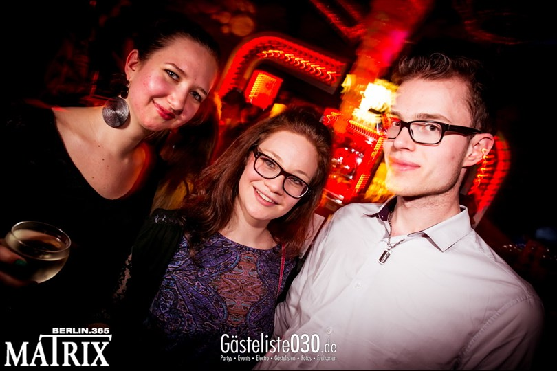 https://www.gaesteliste030.de/Partyfoto #62 Matrix Berlin vom 02.05.2014