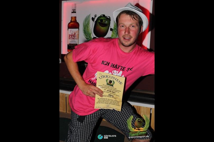 https://www.gaesteliste030.de/Partyfoto #128 Green Mango Berlin vom 12.07.2014