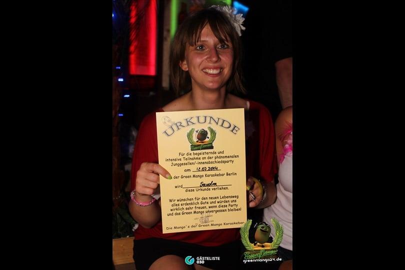 https://www.gaesteliste030.de/Partyfoto #86 Green Mango Berlin vom 12.07.2014