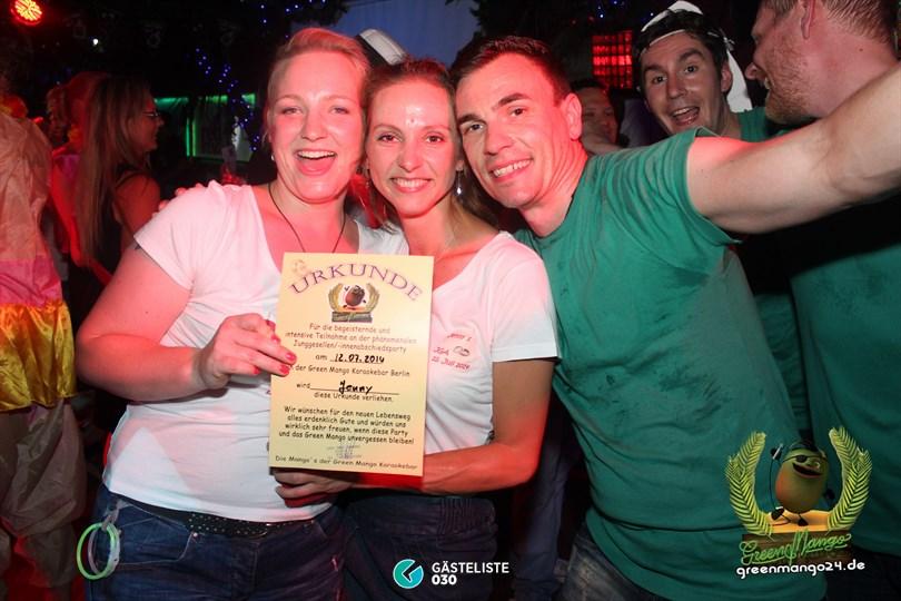 https://www.gaesteliste030.de/Partyfoto #65 Green Mango Berlin vom 12.07.2014