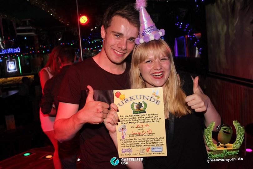 https://www.gaesteliste030.de/Partyfoto #95 Green Mango Berlin vom 11.07.2014