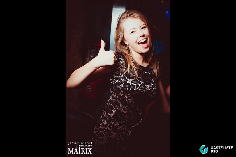 https://www.gaesteliste030.de/Partyfoto #32 Matrix Berlin vom 09.08.2014