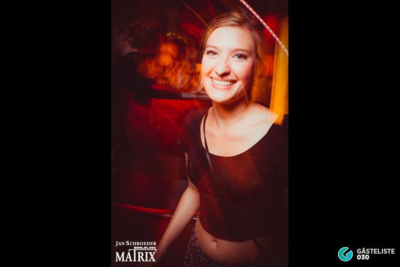 https://www.gaesteliste030.de/Partyfoto #50 Matrix Berlin vom 09.08.2014