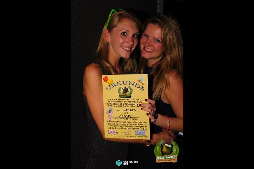 https://www.gaesteliste030.de/Partyfoto #70 Green Mango Berlin vom 15.08.2014