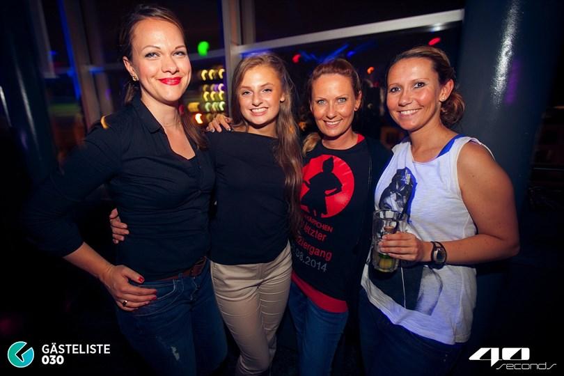 https://www.gaesteliste030.de/Partyfoto #58 40seconds Berlin vom 30.08.2014
