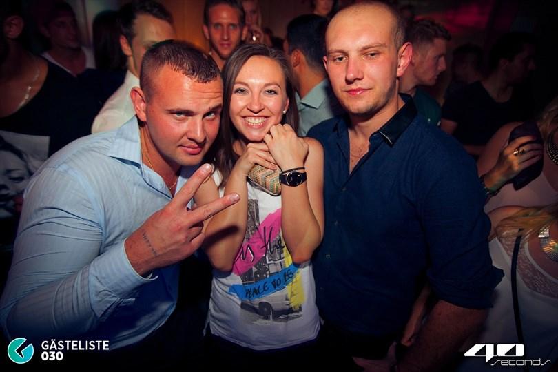 https://www.gaesteliste030.de/Partyfoto #104 40seconds Berlin vom 30.08.2014
