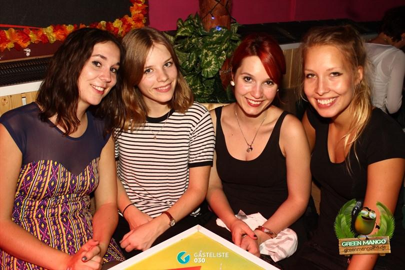 https://www.gaesteliste030.de/Partyfoto #84 Green Mango Berlin vom 20.09.2014