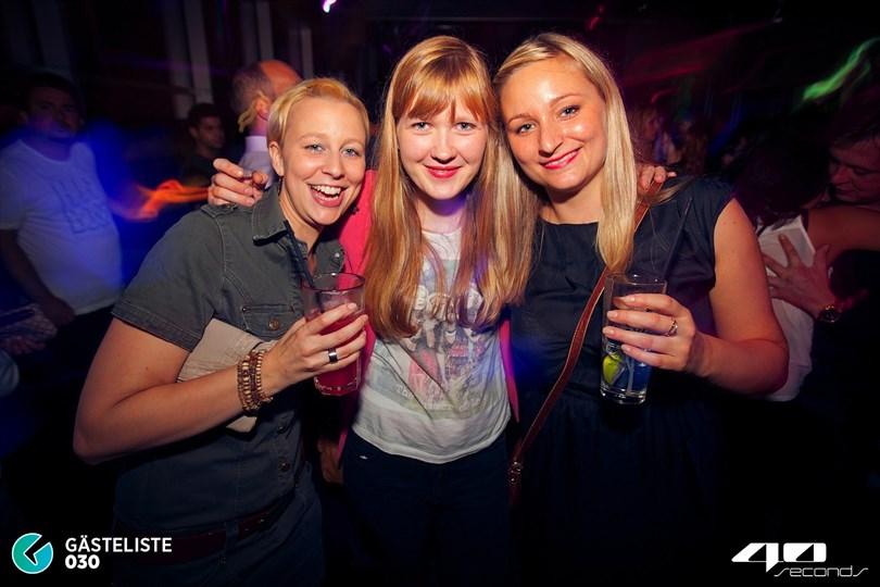 https://www.gaesteliste030.de/Partyfoto #21 40seconds Berlin vom 20.09.2014