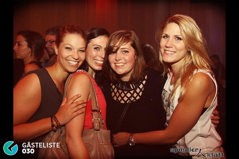https://www.gaesteliste030.de/Partyfoto #3 Spindler & Klatt Berlin vom 10.10.2014