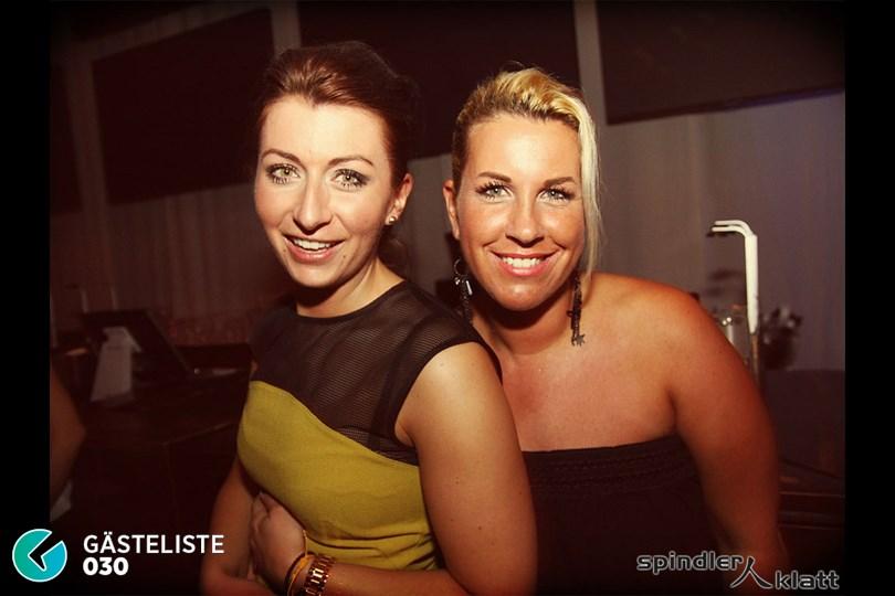 https://www.gaesteliste030.de/Partyfoto #8 Spindler & Klatt Berlin vom 10.10.2014